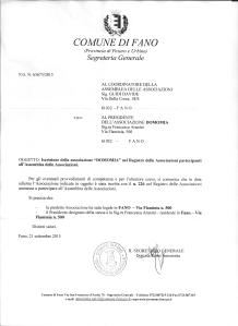 iscrizione al registro delle associazioni